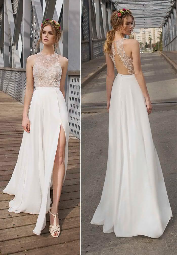 Vestidos De Noiva Para Casamento Civil 75 Fotos Modelos