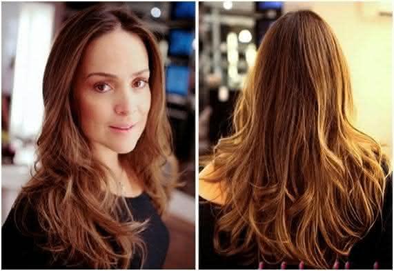 Corte de 2015 para cabelos longos