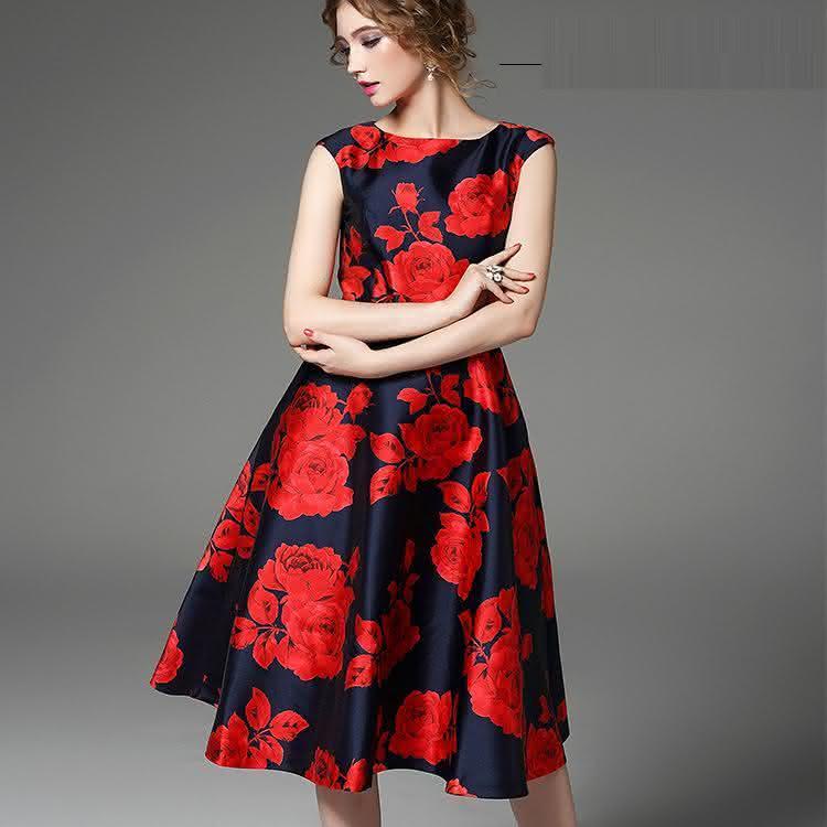 Vestidos Estampados Modelos Incríveis Tendências E Fotos