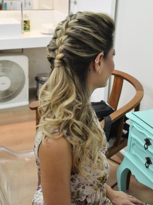 Penteados Fáceis Com Tranças Fotos Dicas E Passo A Passo