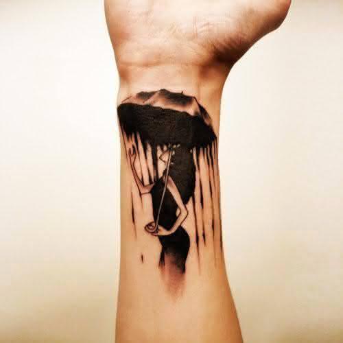 tatuagens-3d-moça-na-chuva