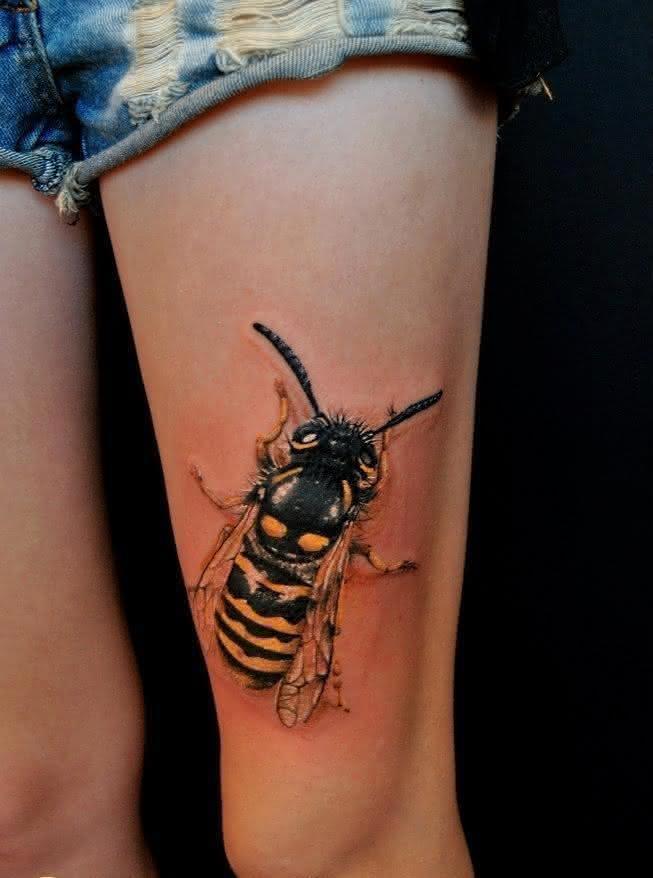 tatuagens-feminina-abelha-3d