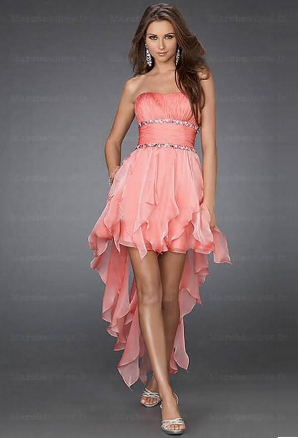 vestido-de-noiva-curto-salmon
