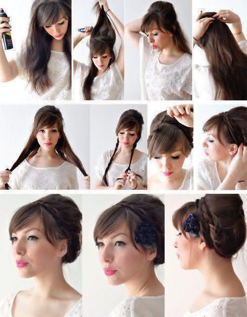 penteados passo a passo faça você mesma