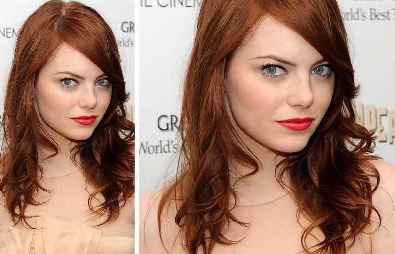 Corte-de-cabelo-para-rosto-oval-Emma-Stone - Pequena Mila 439152ed94