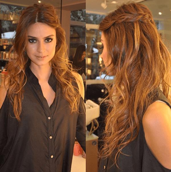 penteados simples 2016 para noite