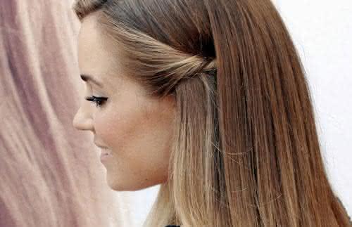 Penteados Fáceis Lisos