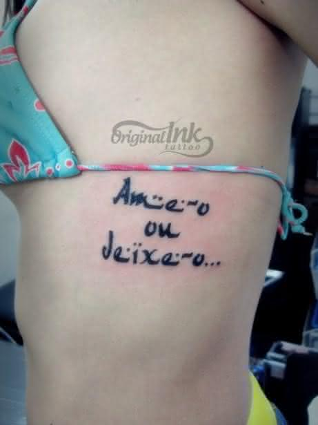 Frases Perfeitas Para Tatuagens Escritas Fontes E Ideias Para Tatuar