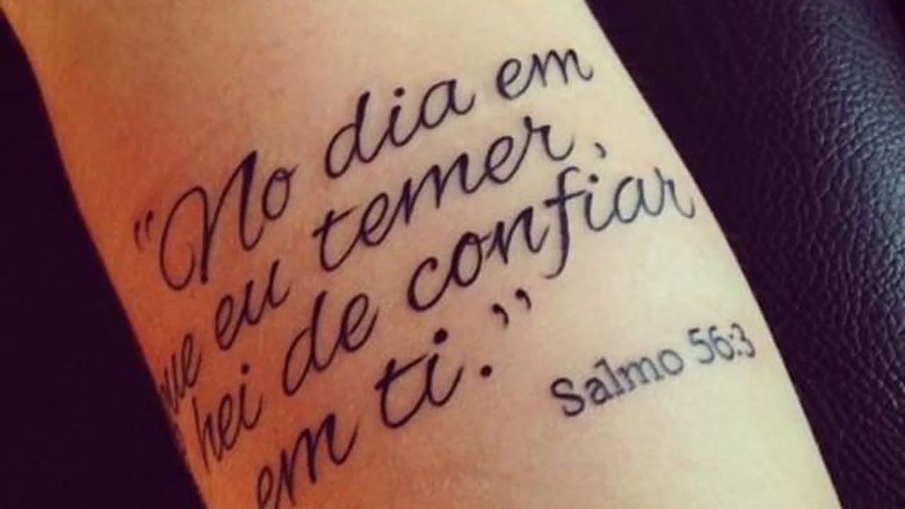 Tatuagens Escritas Muitas Fotos Pequena Mila