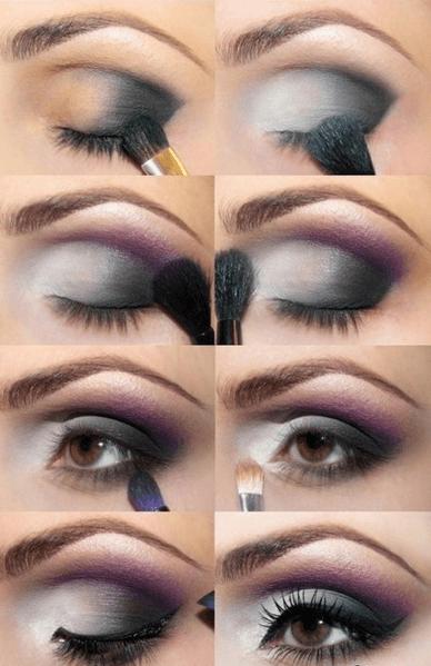 Maquiagem para Ano Novo 2016 Colorida Passo a Passo