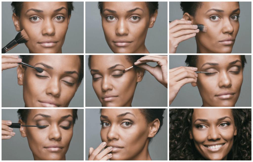 maquiagem pele morena passo a passo com fotos