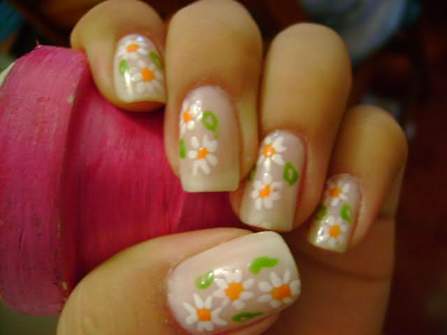 unhas com flores 6