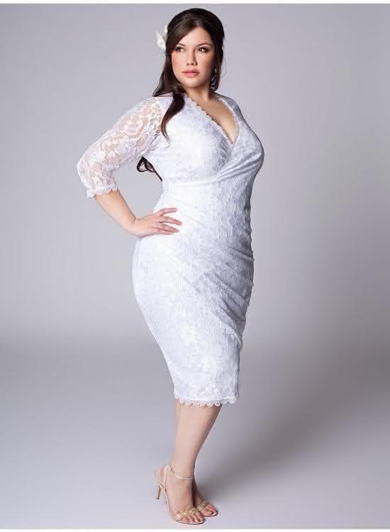Vestido-de-manga-para-noiva-plus-size
