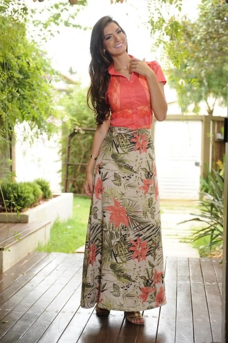 moda evangelica saias e blusas 1