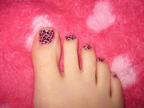 unhas dos pés tumblr simples