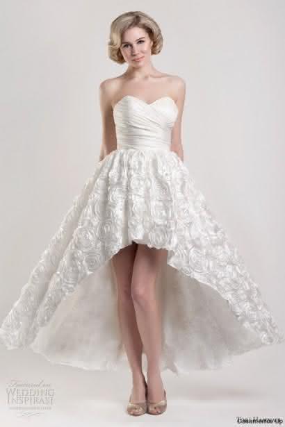 Vestidos De Noiva Curto 2016 Fotos E Sugestões Pequena Mila