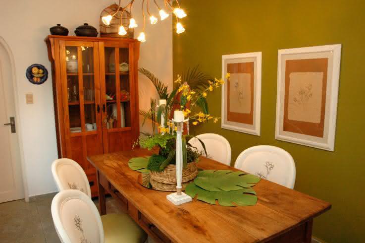 sala de jantar decorada tumbr