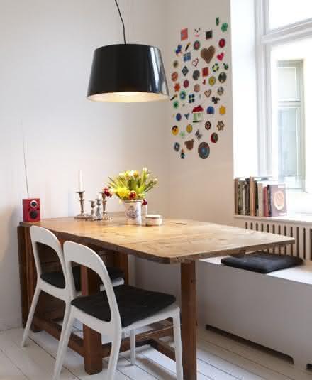 Sala Jantar Pequena Decorada ~ DECORAÇÃO DE SALA 2017 Sala de Jantar e Estar  Pequena Mila