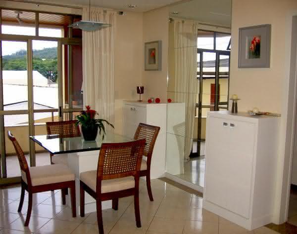 Sala De Jantar Pequena Com Janela ~ DECORAÇÃO DE SALA 2017 Sala de Jantar e Estar  Pequena Mila