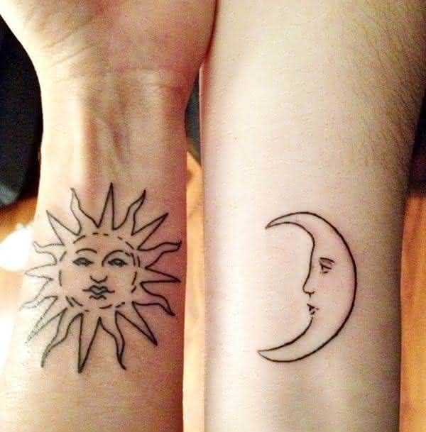tatuagens que se completam