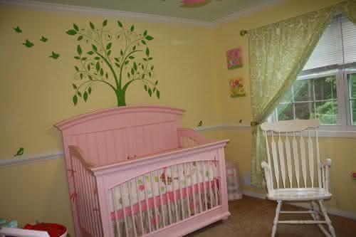 decoração-barata-bebê-gêmeos