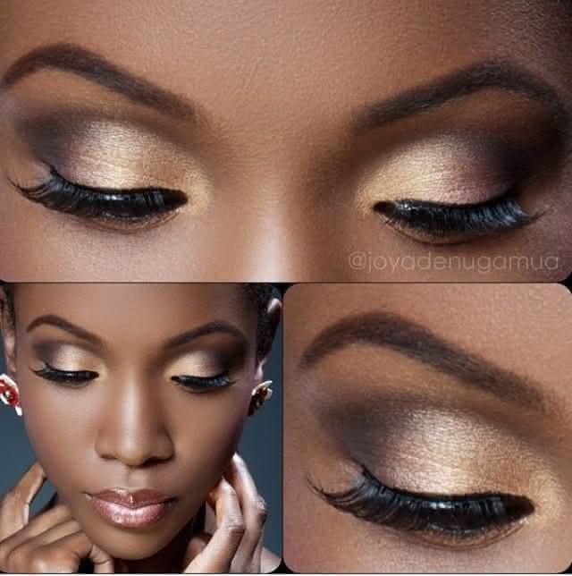 maquiagem-com-dourado-pele-negra