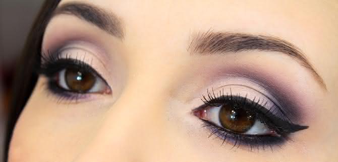 Maquiagem para formatura Afinar olhos