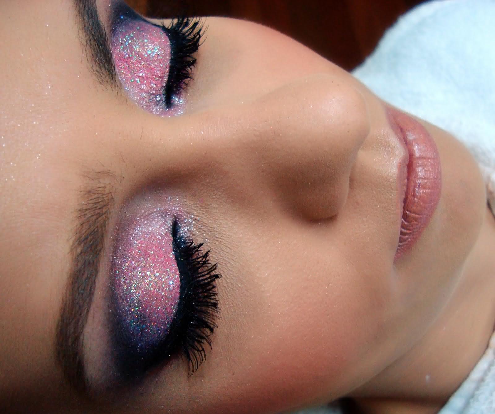 maquiagem para formatura rosa 1