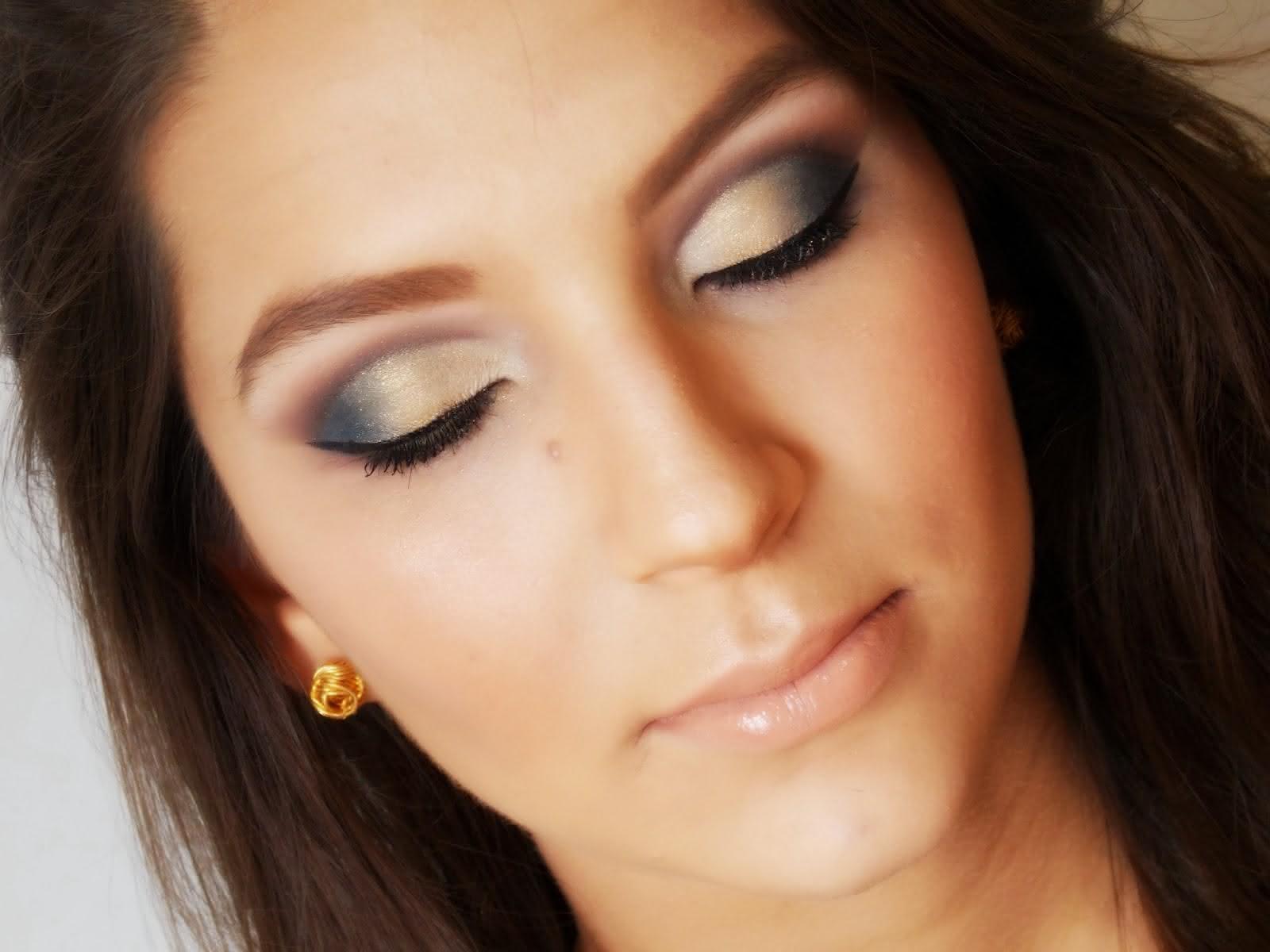 maquiagem-dourada-e-preta
