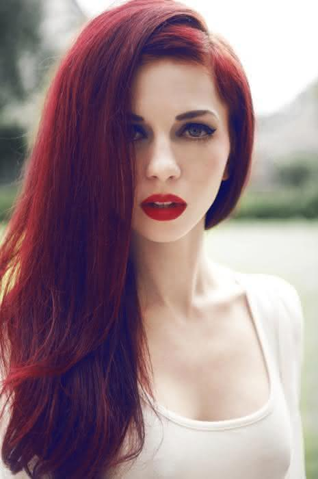 Can believe Red hair and pale skin women with