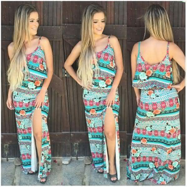 b778436be Vestidos Moda 2017 Estampados