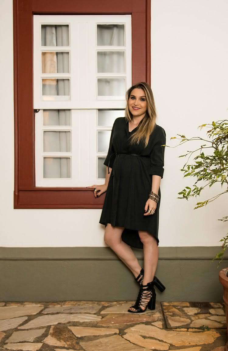 vestidos-gravidas-2017-baixinha