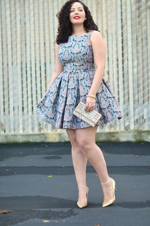 Fotos de vestidos para gordas jovens