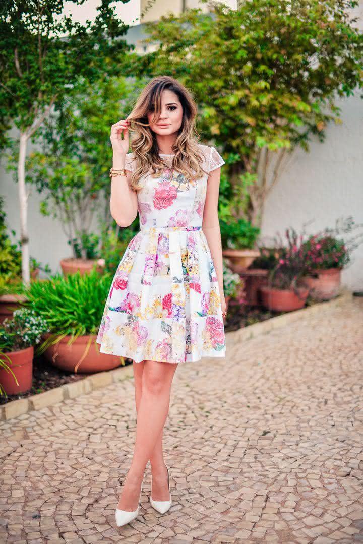 vestidos estampados para passeios