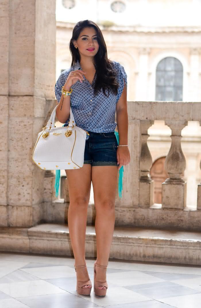 Shorts Jeans Feminino 2017: Tendências, Looks e Lojas