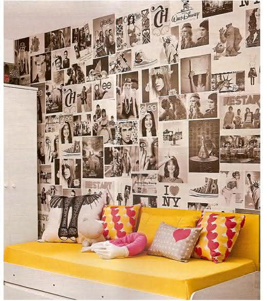 como-decorar-paredes-com-fotos