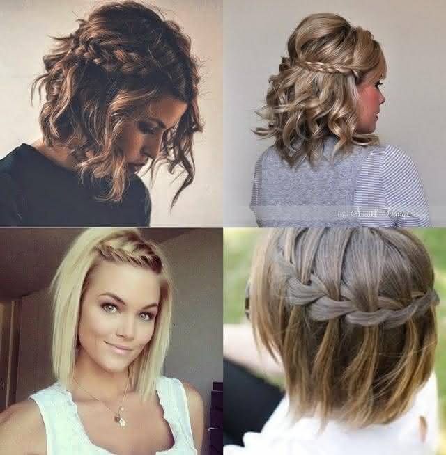 penteados modernos