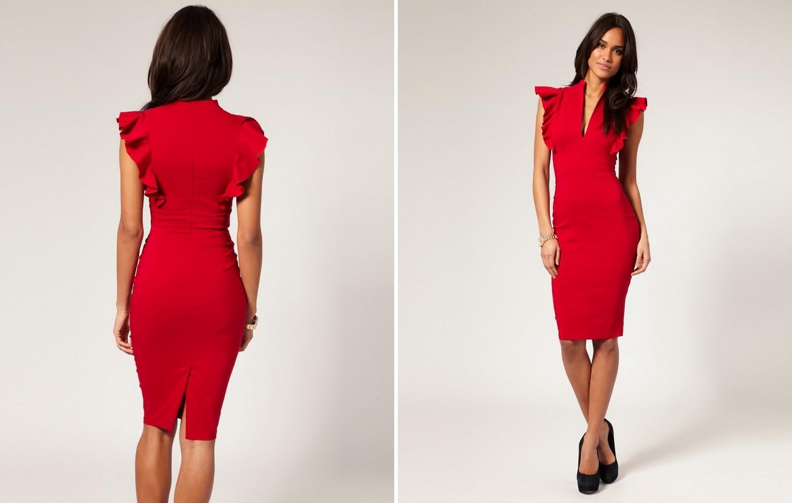 vestido-tubinho-justo-vermelho-colado