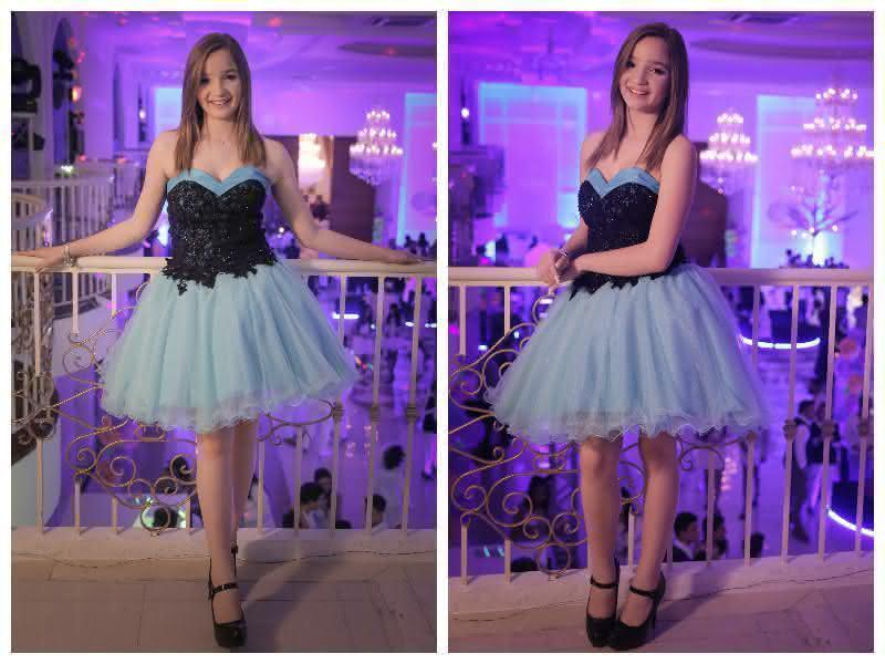 Festa Balada 15 Anos Anna Livya Vestido Curto Debutante Pequena Mila