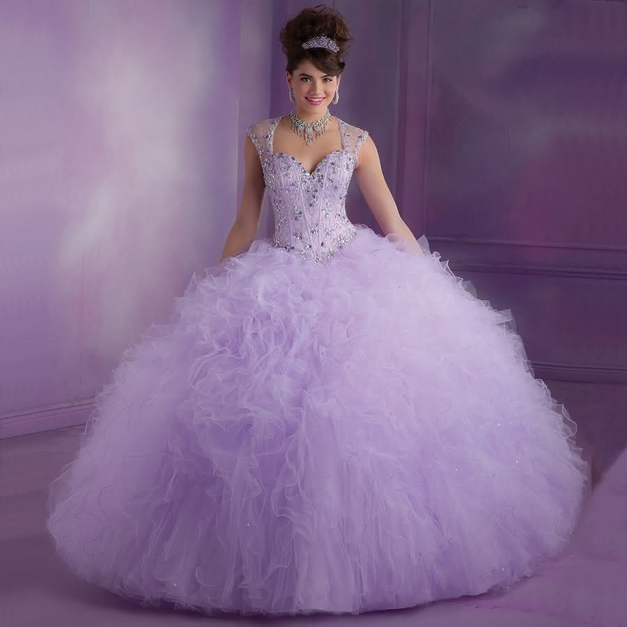 Q5002-New-Arrival-Tulle-Ruffled-Sheer-Back-Luxury-Beaded-Prom-font-b-Gown-b-font-Hot