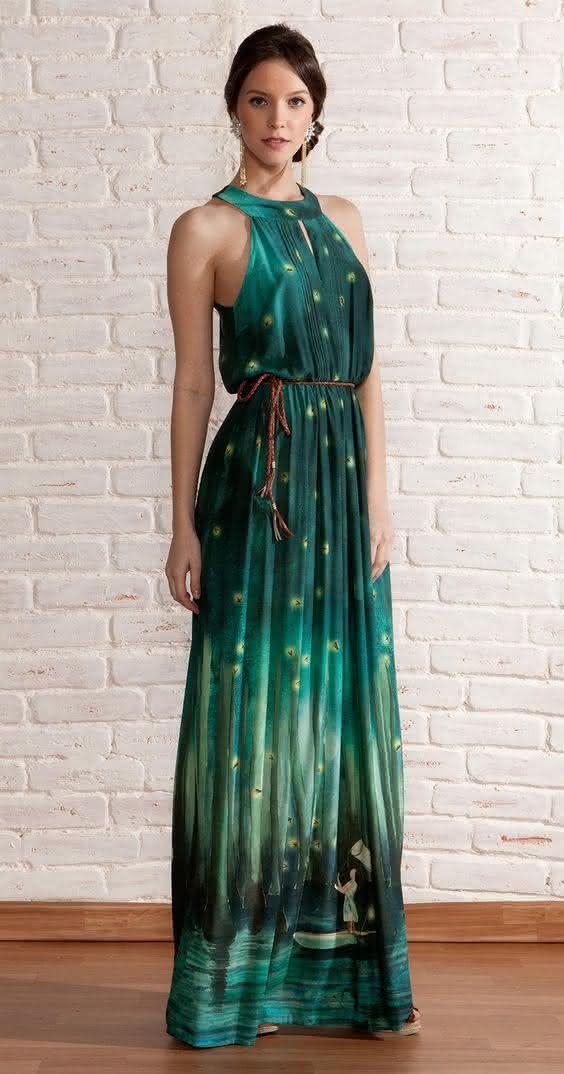 modelos de vestidos longos compridos