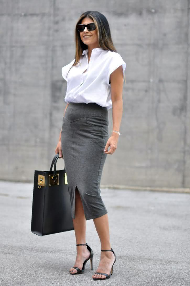 10-Ways-To-Wear-A-Pencil-Skirt-For-Work-7