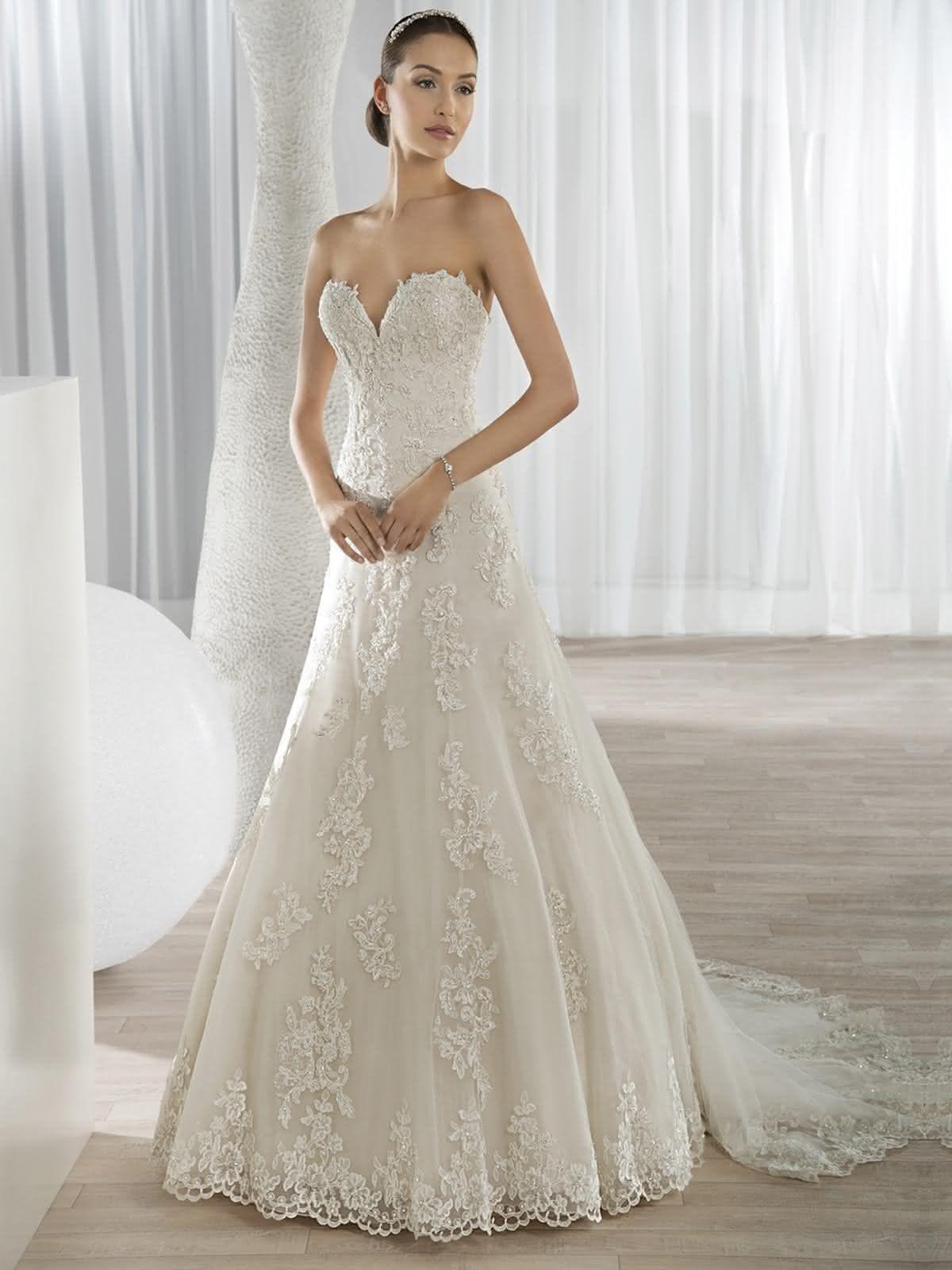 vestidos de noiva tomara que caia 2017 modelos de