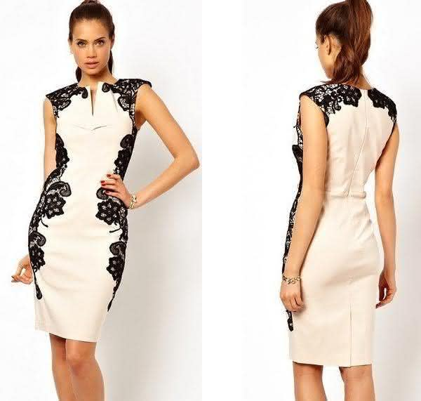 modelo de vestido tubinho