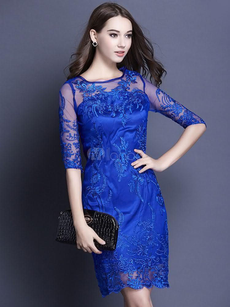 Lace-Floral-Design-Party-Dress-186720-11