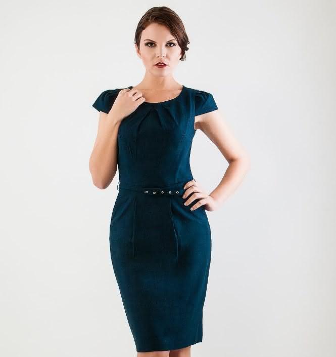 modelo de vestido tubinho colado