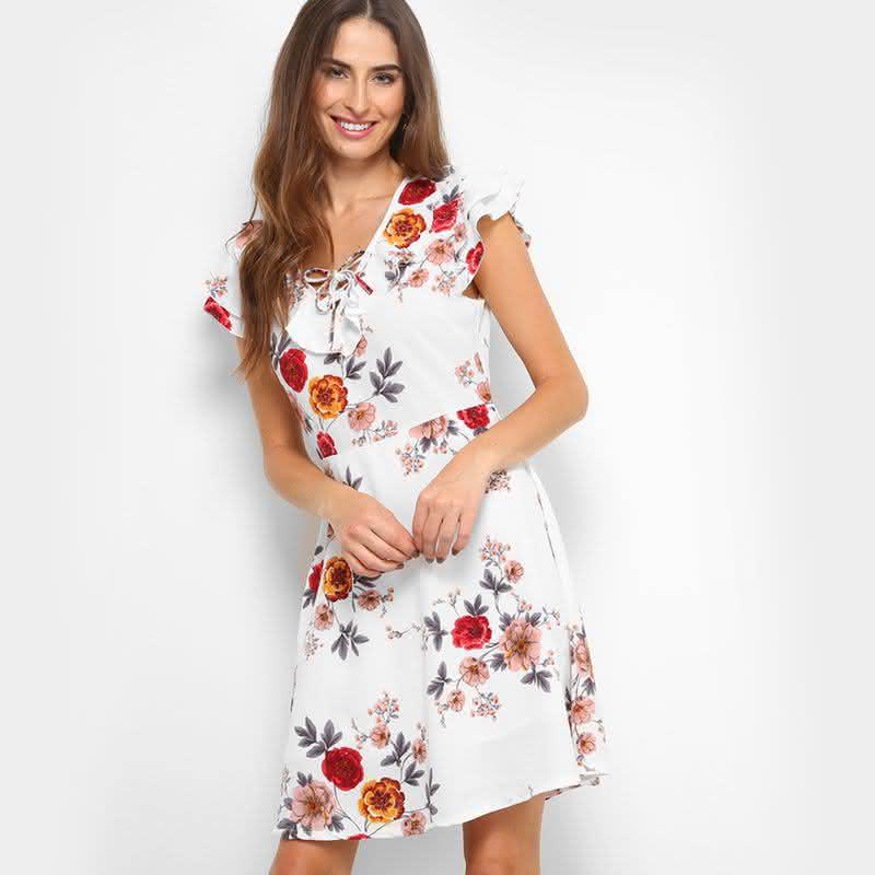 Modelos de vestidos básicos de amarrar