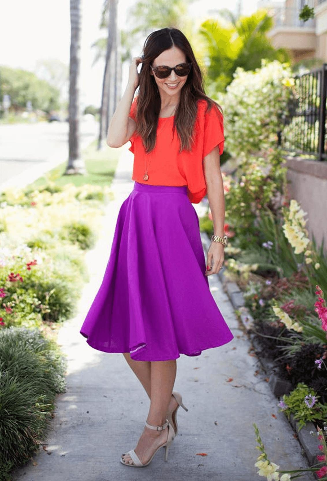 como-usar-saia-midi-colorida-6