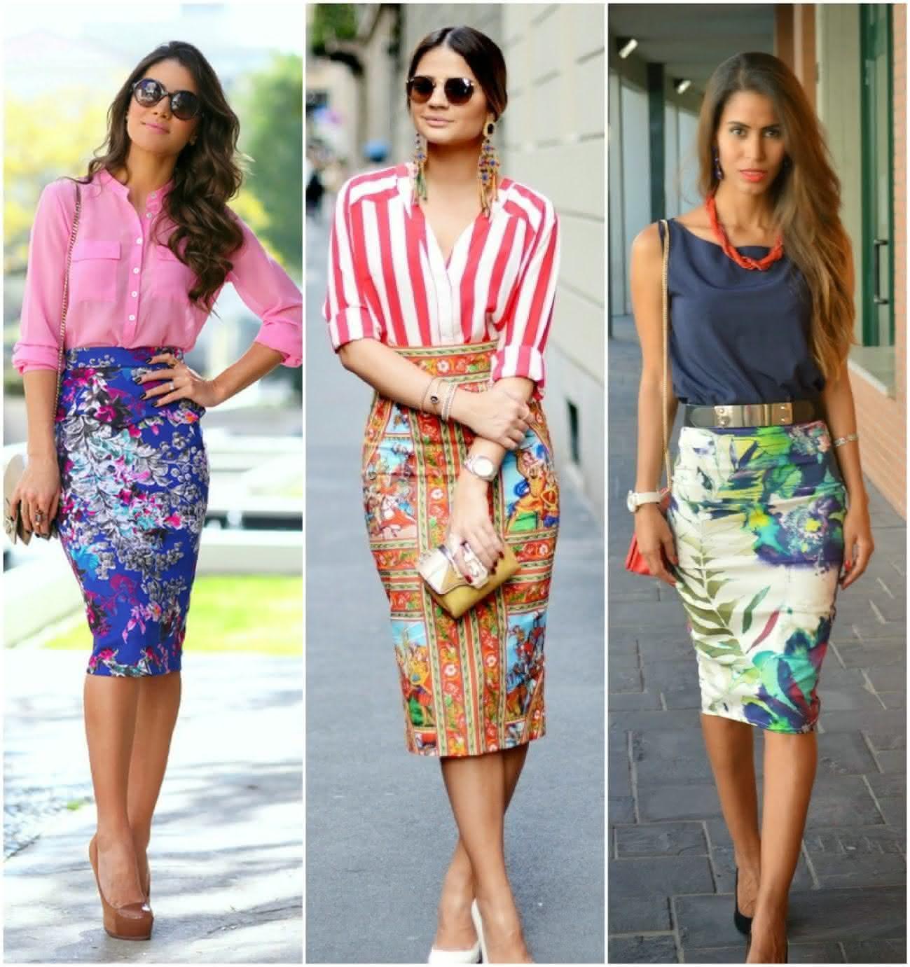 modelos de saia midi tendências fotos dicas e lojas
