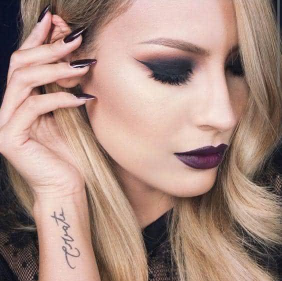 maquiagem para loiras delicadas